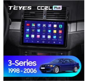 Штатное головное устройство BMW 3 E46 / 2001-2006 / can bus