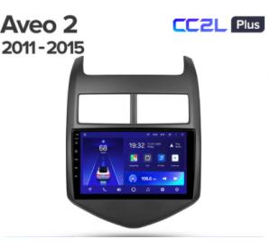 Штатное головное устройство Chevrolet Aveo / 2011-2013 / 9 дюйм