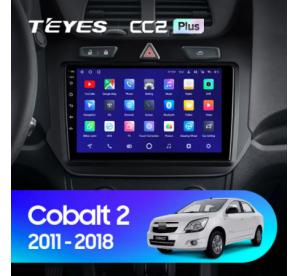 Штатное головное устройство Chevrolet Cobalt 2 / 2011-2018 / 9 дюйм