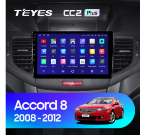 Штатное головное устройство Honda Accord 8 / 2007-2013 10 дюйм can bus