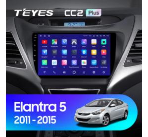 Штатное головное устройство Hyundai Elantra 2014-2016