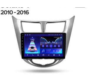 Штатное головное устройство Hyundai Solaris 1 2010-2016 10 дюймов