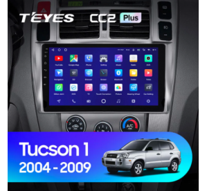 Штатное головное устройство Hyundai Tucson / 2005-2009 10 дюймов