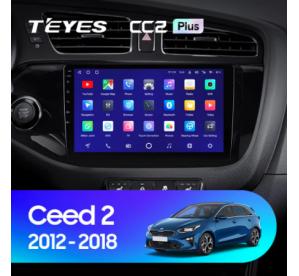 Штатное головное устройство Kia Ceed 2012-2018