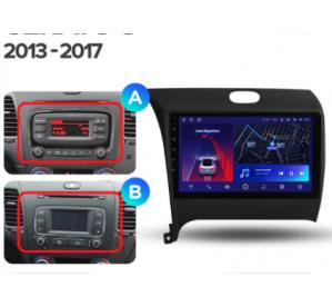 Штатное головное устройство Kia Cerato / 2013-2018
