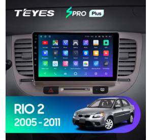 Штатное головное устройство Kia Rio 2 / 2005-2011