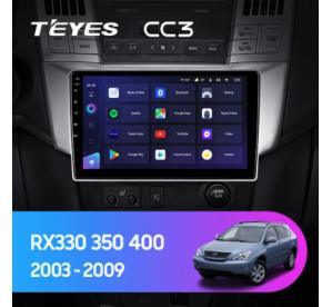 Штатное головное устройство Lexus RX 300 / RX 330 / RX 350 / RX 400 H / Toyota Harrier / 2003 - 2009 / can bus / 9 дюйм