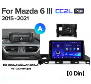 Штатное головное устройство MAZDA 6 / 2017-2019 / canbus / 10 дюйм