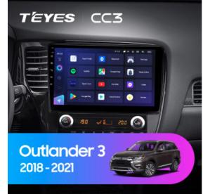 Штатное головное устройство Mitsubishi Outlander 2017+ 10 дюймов