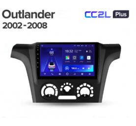 Штатное головное устройство Mitsubishi Outlander / 2002-2008 / iso B / 9 дюйм