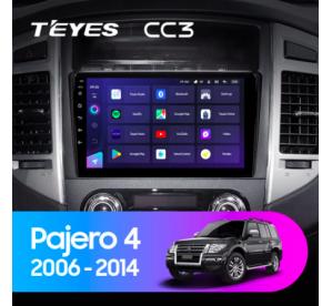 Штатное головное устройство Mitsubishi Pajero 4/2006-2014/can bus/iso B