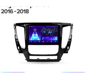 Штатное головное устройство Mitsubishi Pajero Sport 3/2016-2018