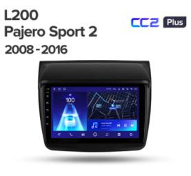 Штатное головное устройство Mitsubishi Pajero Sport / L200 / 2006-2015 / 9 дюйм