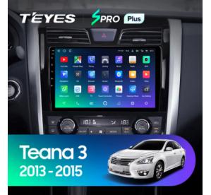 Штатное головное устройство Nissan Teana / 2008-2014 / can bus / 10 дюйм