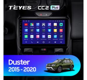 Штатное головное устройство Renault Duster 1 /2010-2015 9 дюймов