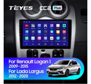 Штатное головное устройство Renault Logan 1 Sandero 2010-2015
