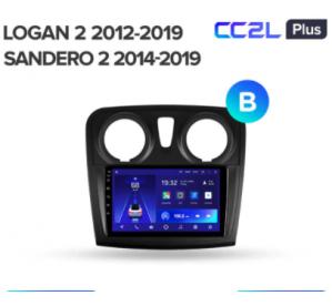 Штатное головное устройство Renault Logan2/Sandero2 2014-2019 10 дюймов