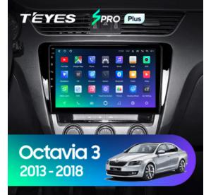 Штатное головное устройство Skoda Octavia 2015