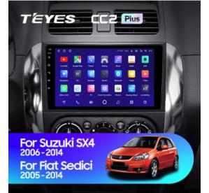 Штатное головное устройство Suzuki SX4 1 / 2006-2014 / 9 дюйм