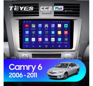 Штатное головное устройство Toyota Camry V40 2006-2011 9 дюймов