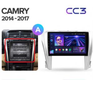 Штатное головное устройство Toyota Camry V55 /2015-2018