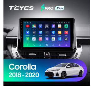 Штатное головное устройство Toyota Corolla 2019
