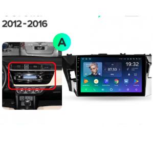 Штатное головное устройство Toyota Corolla / 2013-2016 / iso A