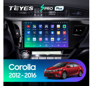 Штатное головное устройство Toyota Corolla ( АМЕРИКА ) 2012-2016