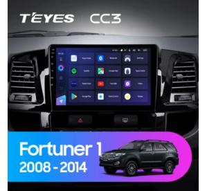 Штатное головное устройство Toyota Fortuner 1 AN50 AN60 / HILUX Revo / Vigo / 2008-2014 / model A / 9 дюйм