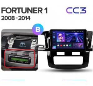 Штатное головное устройство Toyota Fortuner 1 AN50 AN60 / HILUX Revo / Vigo / 2008-2014 / model B / canbus/9 дюйм