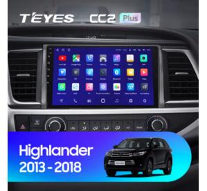 Штатное головное устройство Toyota Highlander / 2013-2020 / can bus