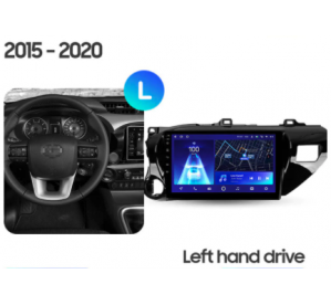 Штатное головное устройство Toyota Hilux 10.1 2017+