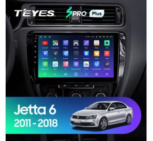 Штатное головное устройство Volkswagen Jetta 6 / 2011-2018 / canbus / 10 дюйм