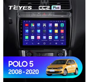 Штатное головное устройство Volkswagen POLO 5 / 2008-2015 / canbus / 9 дюйм