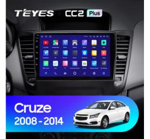 Штатное головное устройство Chevrolet Cruze 2008-2012