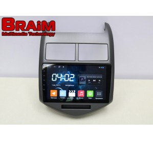 BRAIM рамка Chevrolet Aveo / 2011-2013 / 9 дюйм