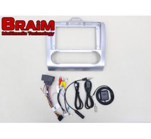BRAIM рамка Ford Focus 2 / 2005-2011 / Model B / 10 дюйм