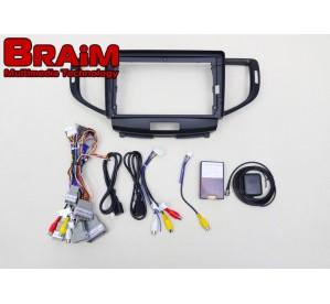 BRAIM рамка Honda Accord 8 / 2007-2013 / can bus  / 9 дюйм