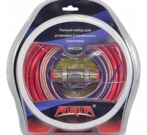 КИТ для подключения усилителя ARIA ААК 2.04
