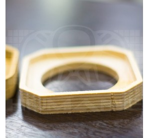 Кольцо проставочное рупор квадрат