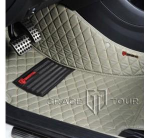 3D кожаные коврики в авто